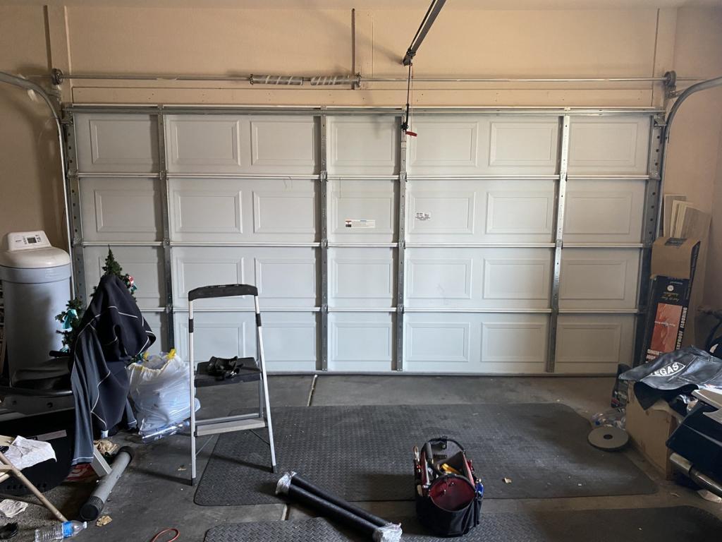 Residential Broken Garage Spring Garage Door Service