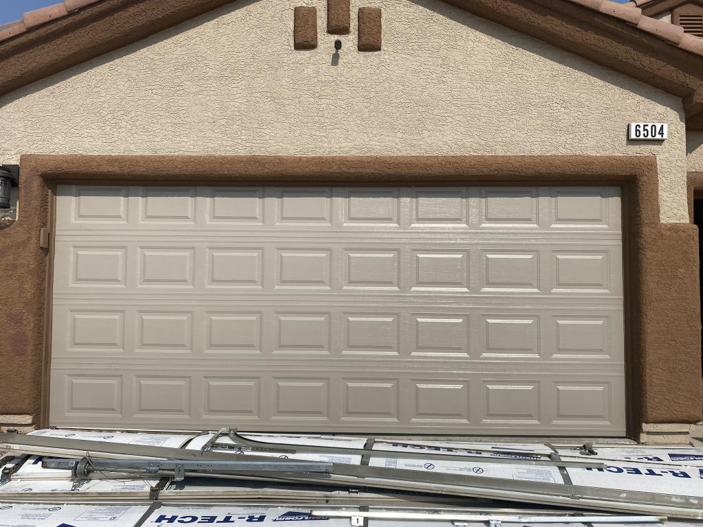 Garage door replacement Insulated garage door Residential