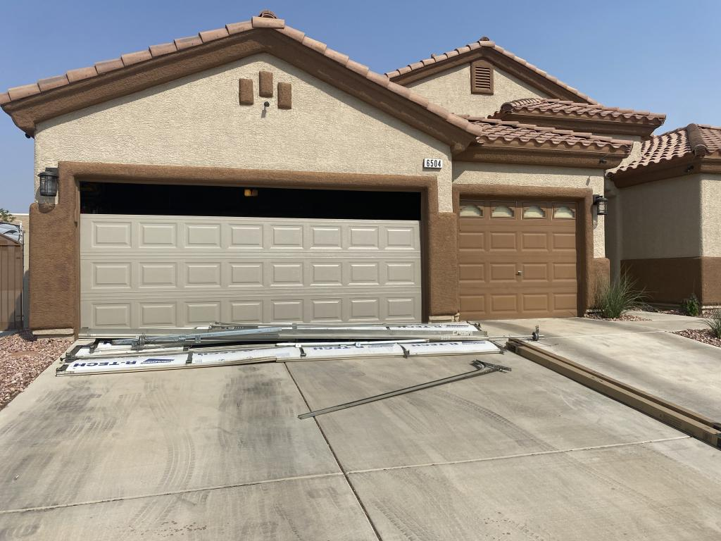 Residential Garage door replacement Insulated garage door