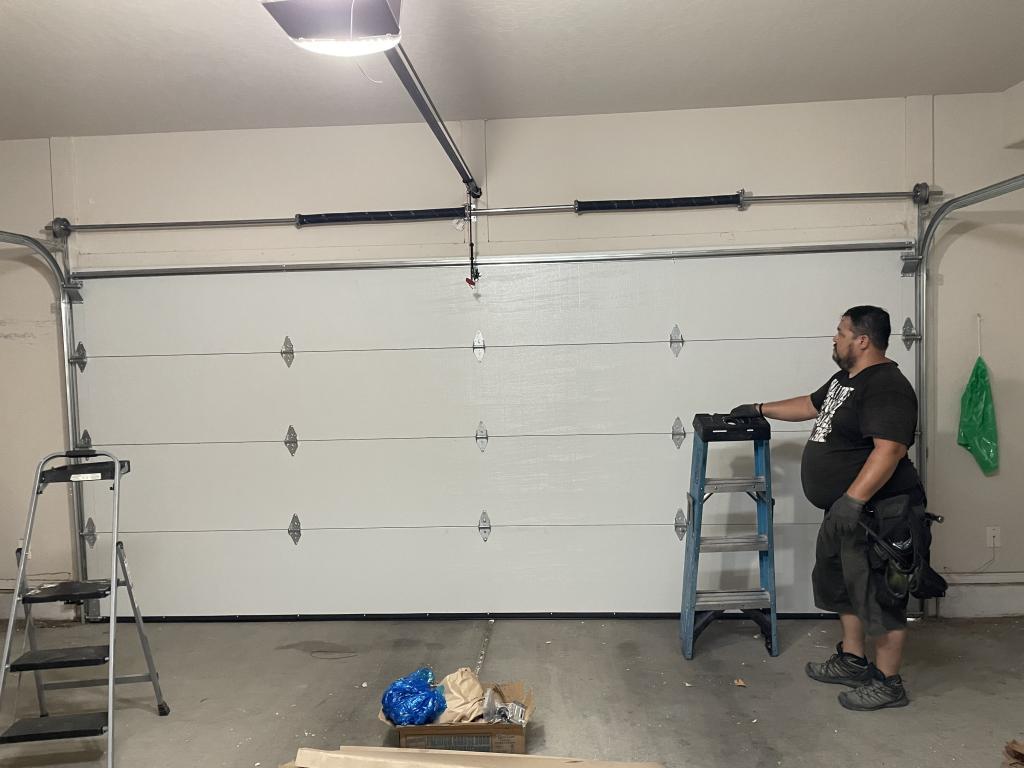 Garage door installation garage door opener garage door opener life span Garage door replacement