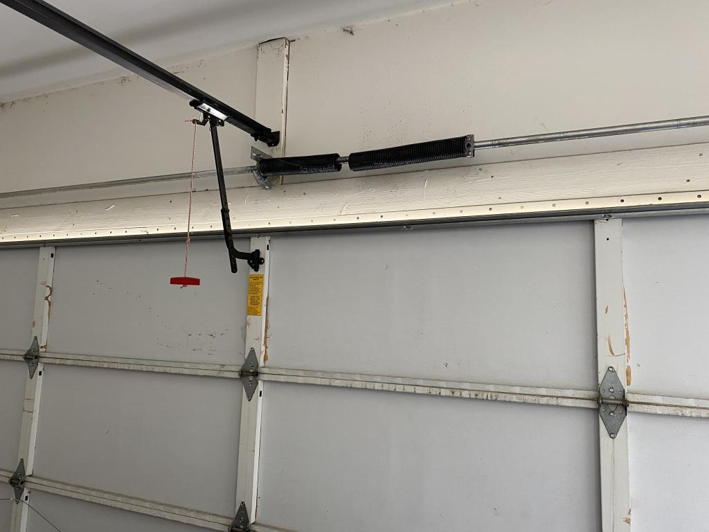 Garage door spring broken Garage door spring type Garage door torsion spring installation Broken Garage Spring